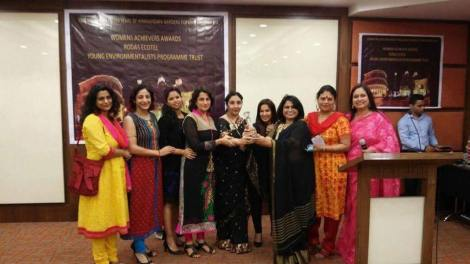 The Sparkling Woman, Ms. Simmi Bhasin, with her Women Who Win !